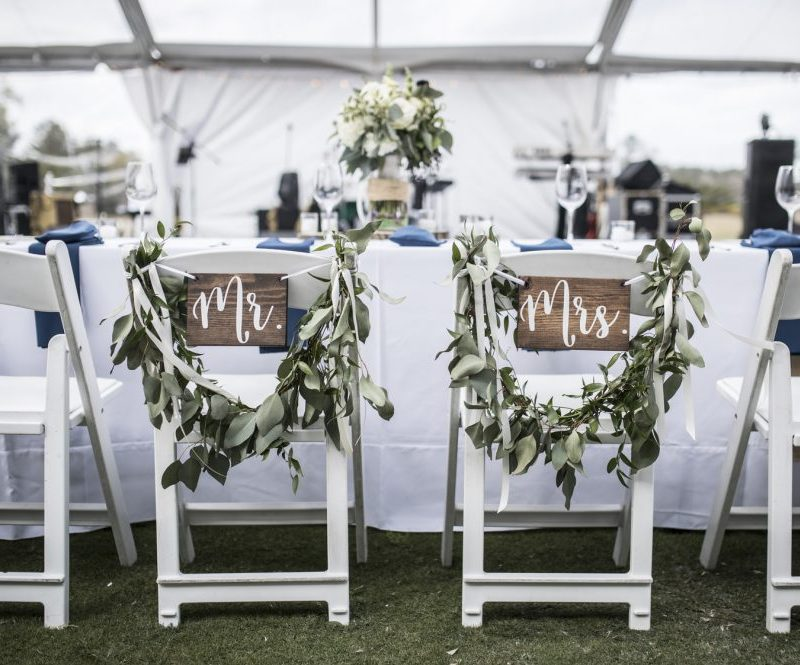 all-inclusive wedding table