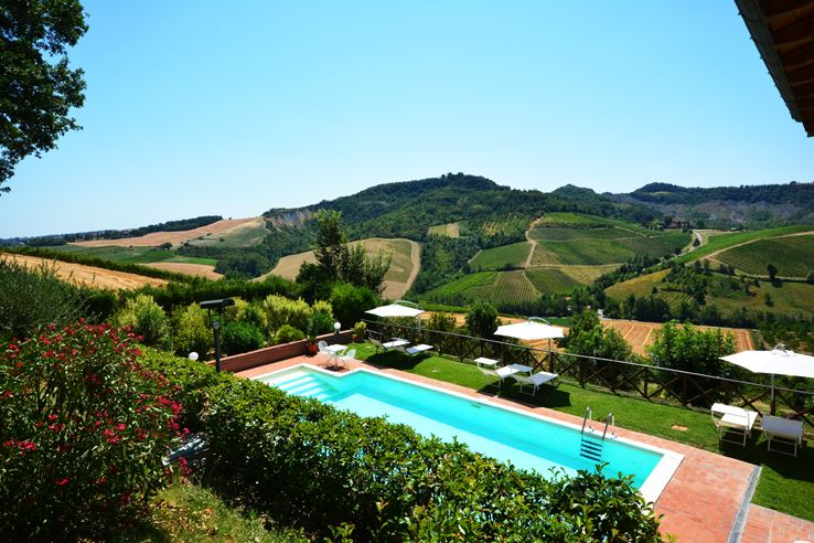 Panoramic Views From The Locanda Swimming Pool
